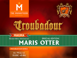 Troubadour Magma Maris Otter label