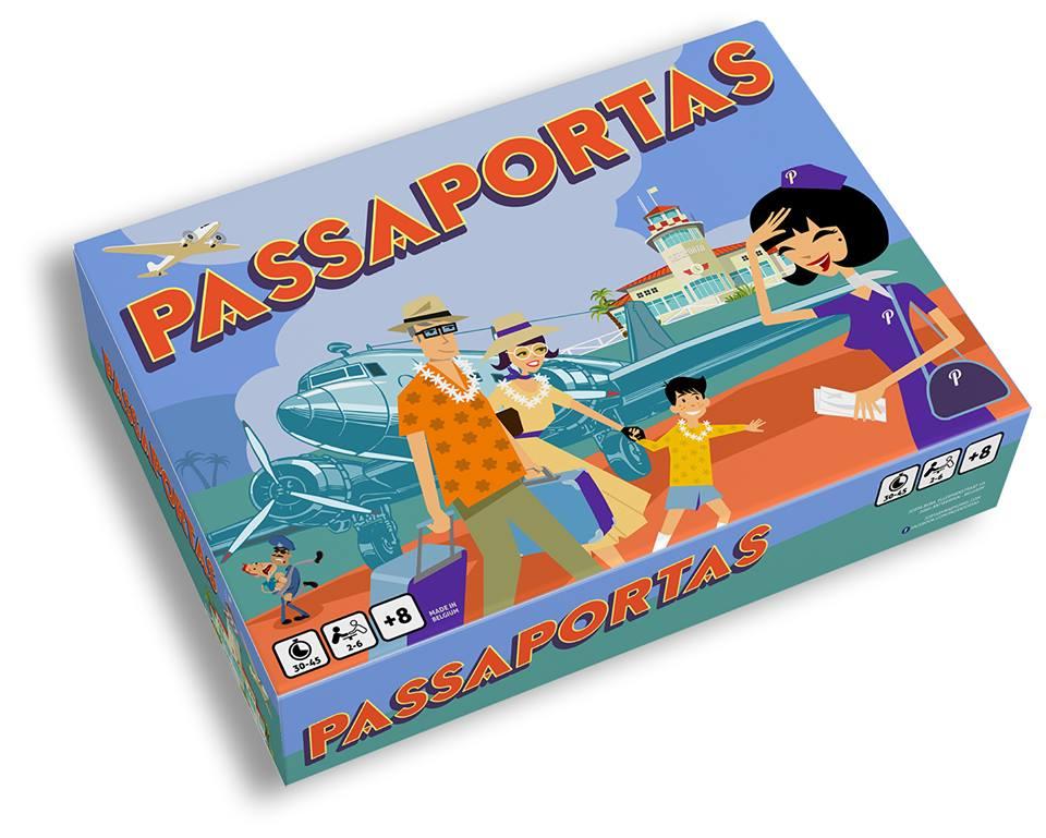 Passaportas speldoos