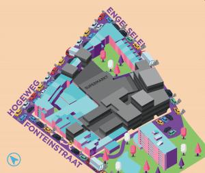Arop-site overzichtsplan bouwproject