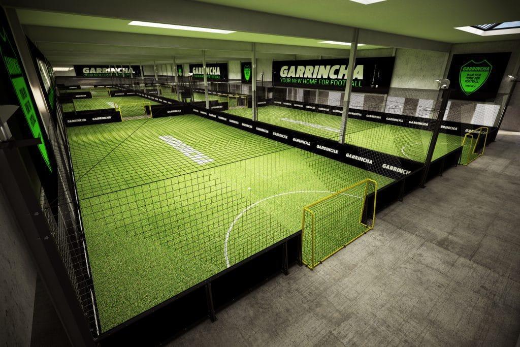 Simulatie Garrincha Antwerpen in Blikfabriek
