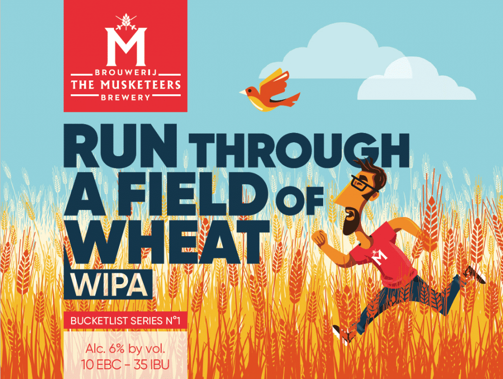 Bucketlist Run Through a field of wheat WIPA