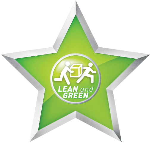 Lean and Green star logo