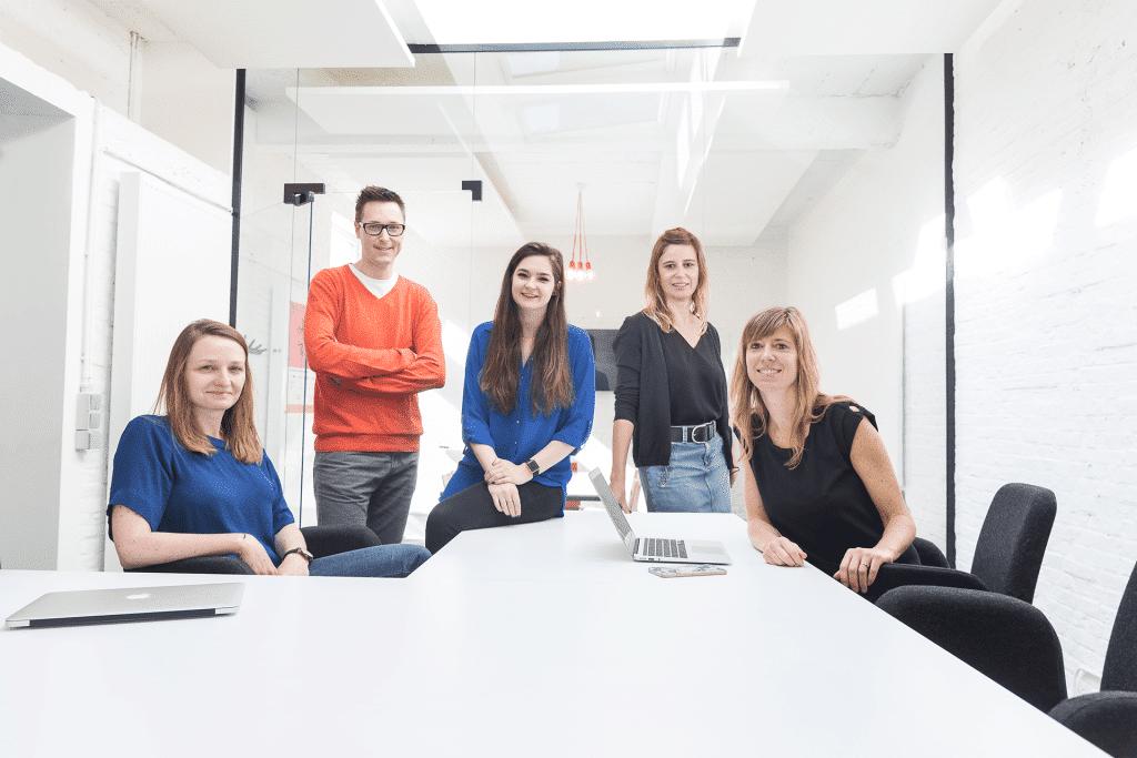 Reputations team Sarah Devis Frederik Picard Kristy Jacobs Eva D'Hondt Joke Cortens