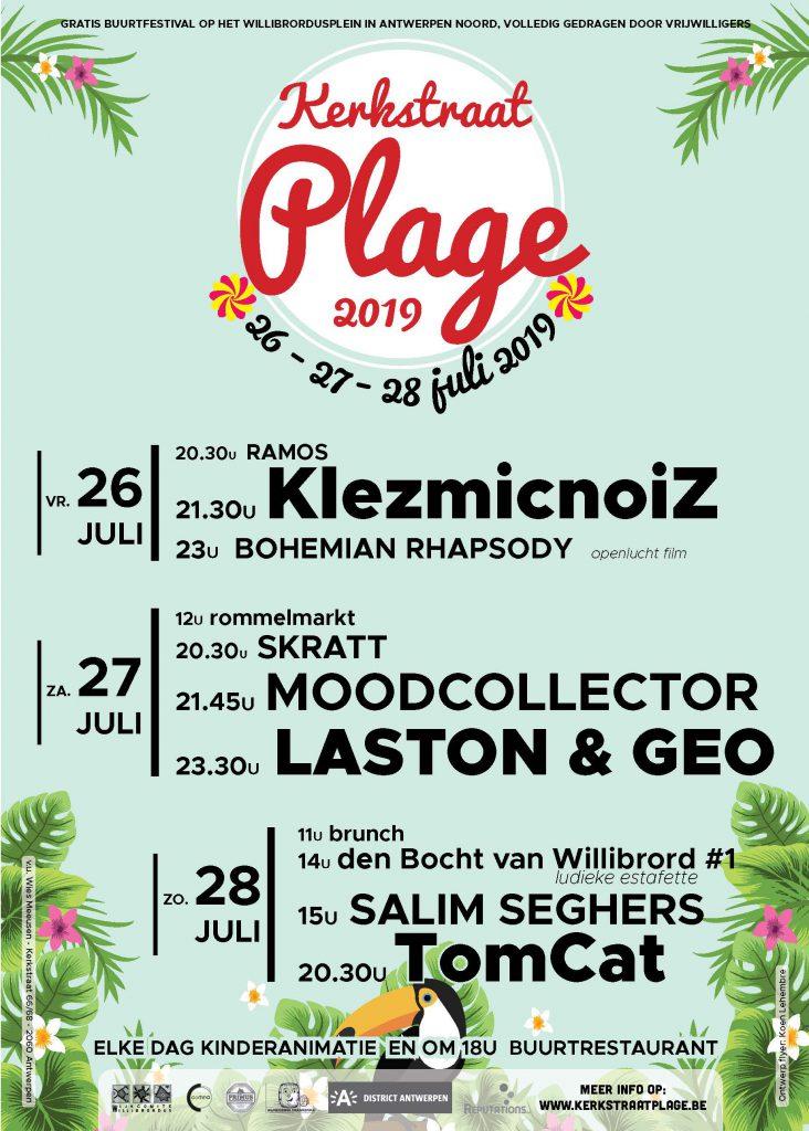 Kerkstraat Plage 2019 affiche