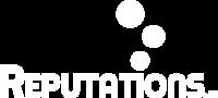 Reputations logo white