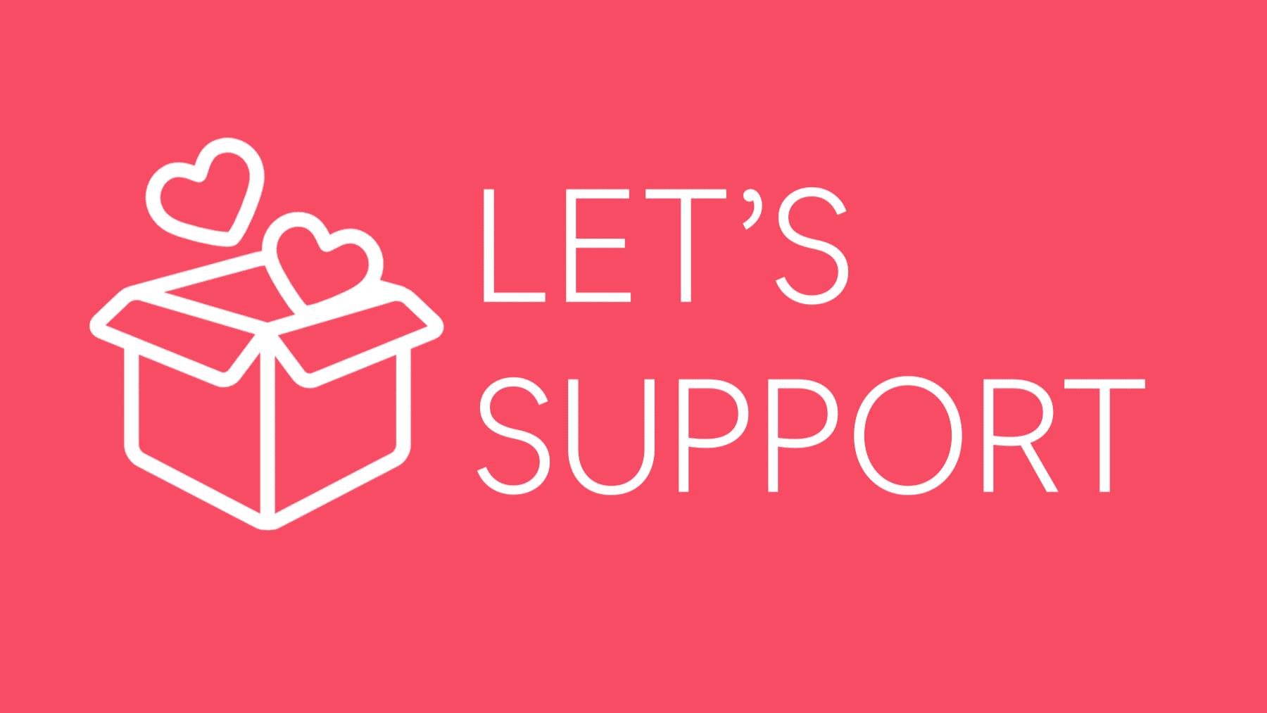 let's support logo 16 9