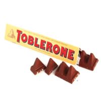 Toblerone driehoek vormmerk