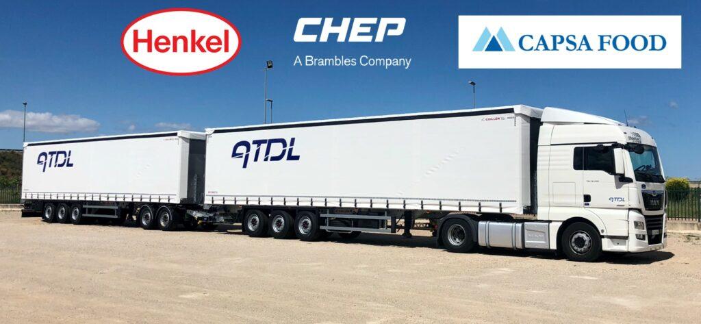 Transportsamenwerking CHEP - HENKEL - CAPSA